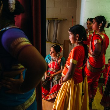 Indian Dancers, by Andrew Rush, Pittsburgh Post-Gazette