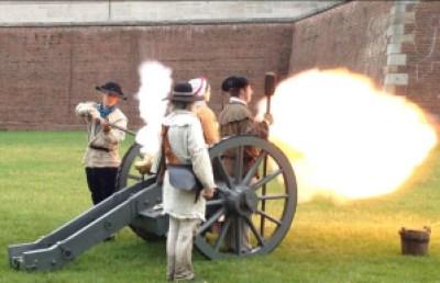 Fort Pitt Cannon Crew