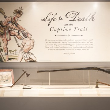Life and Death on the Captive Trail, Captured by Indians, Fort Pitt Museum