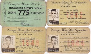 ALT:Carnegie-Illinois Steel Corportation I.D. Cards
