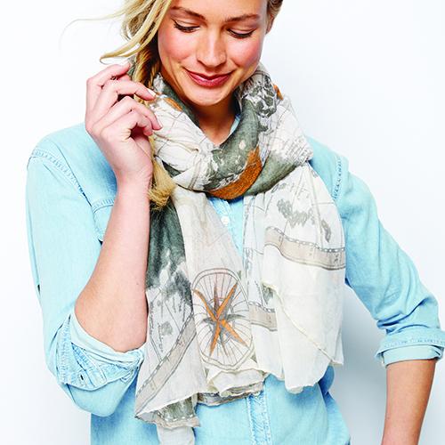 Around the World scarf