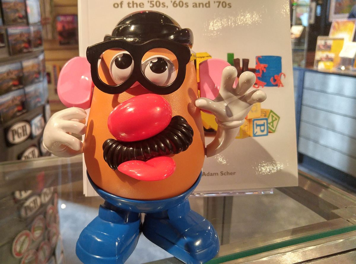 Mr. Potato Head, 2016, available at the Heinz History Center museum shop.