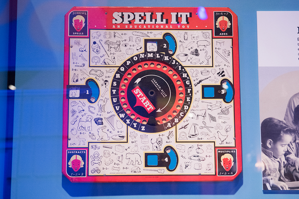 Spell It | Toys of the '50s, '60s and '70s Exhibit | Heinz History Center