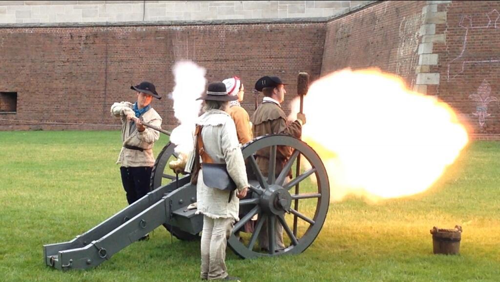 Fort Pitt Museum cannon