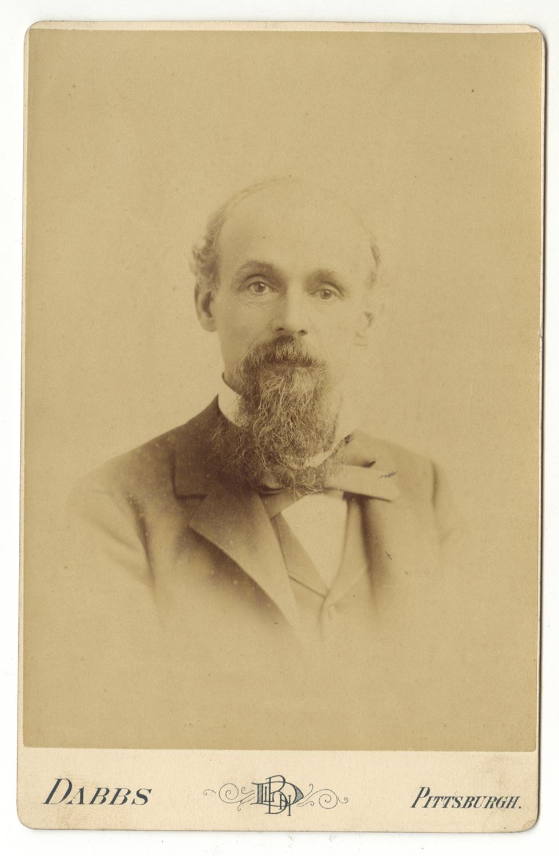 Cabinet card of John Brashear, Heinz History Center.