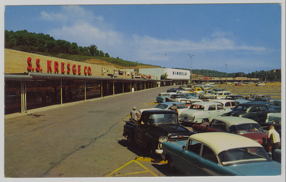 McKnight Village Shopping Center postcard, Heinz History Center