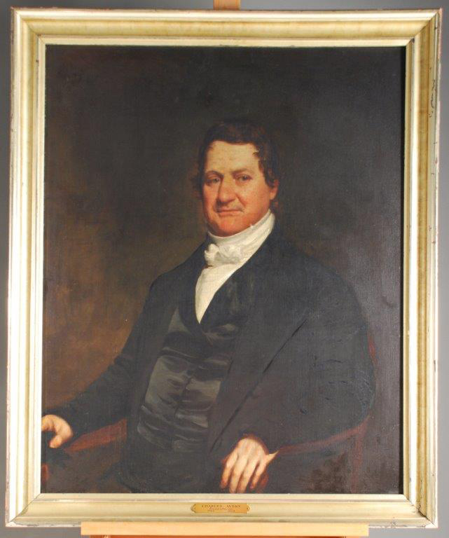 Charles Avery, Humanitarian, artist unknown, oil on canvas, 1840s. Gift of Wilbur C. Douglas.