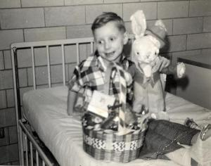ALT:Bill Zimpleman, Easter 1952 at the Pittsburgh Home For Crippled Children. | Your #Pixburgh Photo Album | #Pixburgh: A Photographic Experience