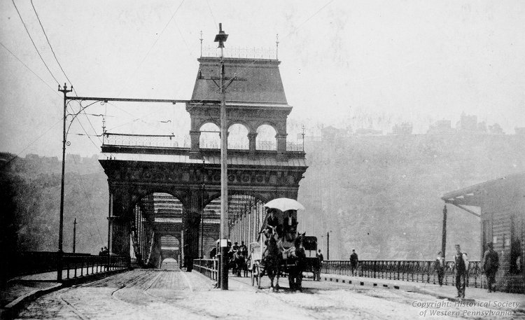 Smithfield Street Bridge, 1894, Jones & Laughlin Steel Corporation Collection Photographs, Detre Library & Archives at the History Center