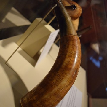 John Paemberton Horn | From Maps to Mermaids: Carved Powder Horns in Early America | Fort Pitt Museum