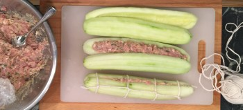 Forcemeat cucumbers | Meadowcroft Rockshelter and Historic Village