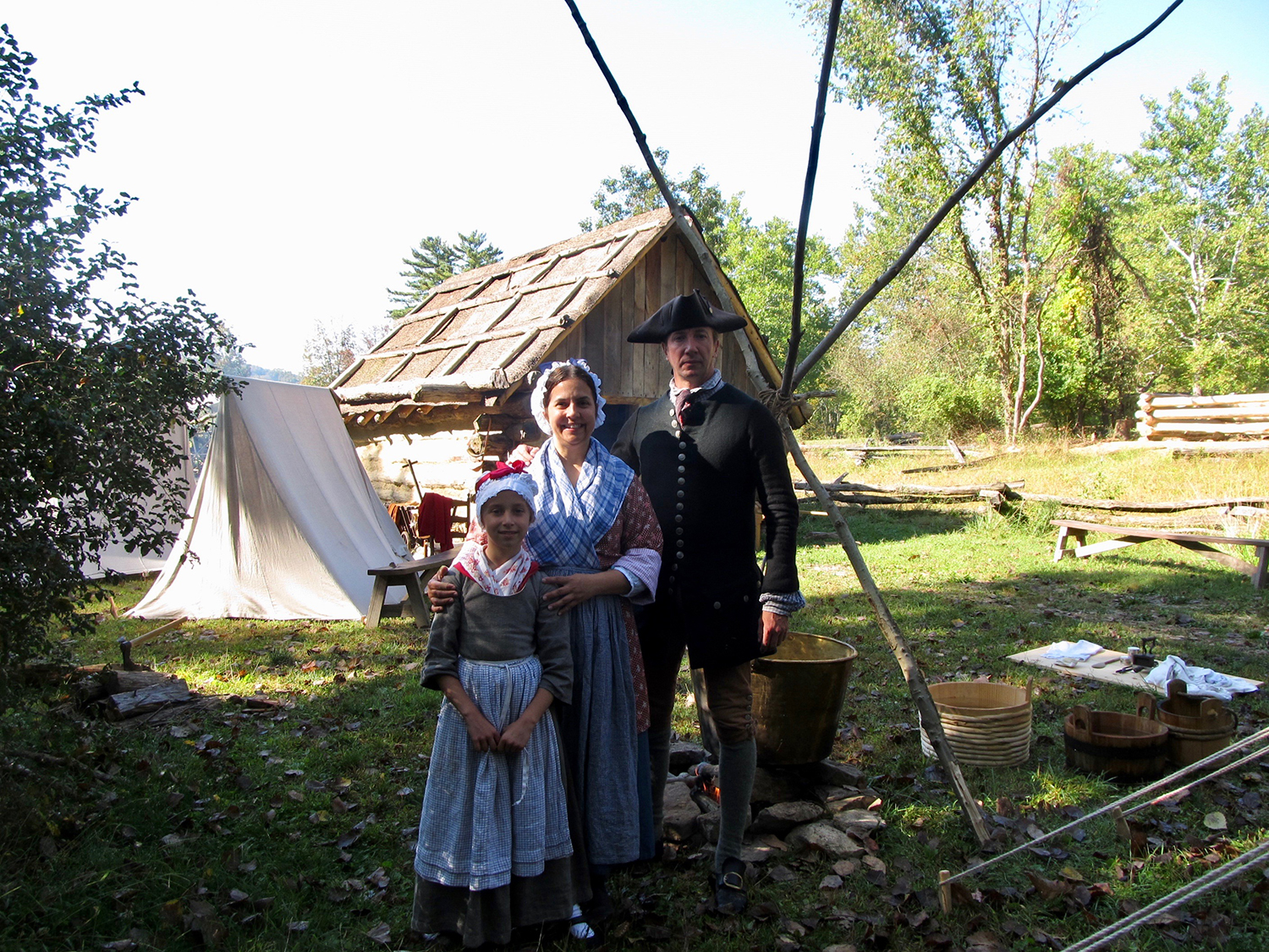 Living historian Elizabeth Hobbs and her family