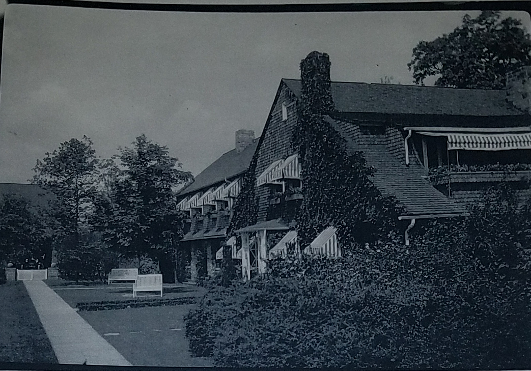Historic image of the Wilpen Hall Estate