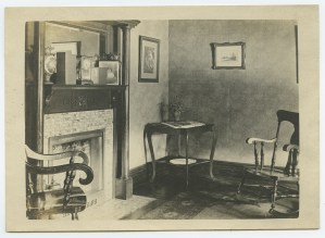 ALT:A corner of the living room in the Writt family home at 7431 Susquehanna Street.