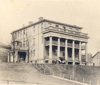 The original Montefiore Hospital, located on Centre Avenue, was dedicated in 1908.