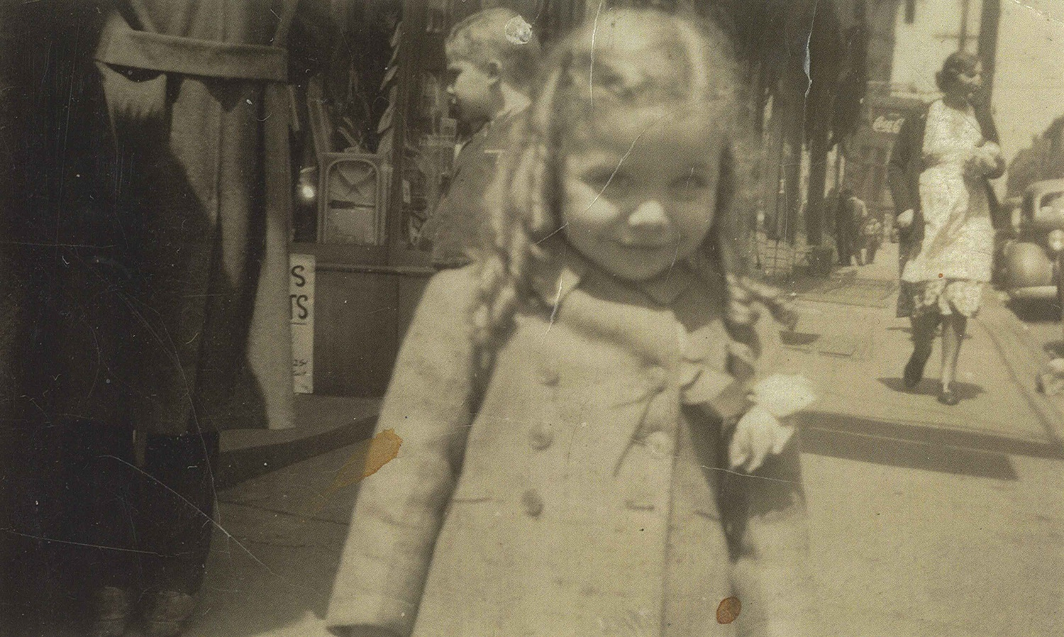 Rochelle Blumenfeld spent her early childhood in the Lower Hill District, where both sides of her family ran stores. Courtesy of Rochelle Blumenfeld.