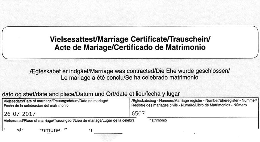 Heiraten In Dänemark Fachbegriffe Httpswwwheiratendk