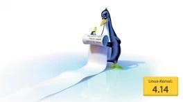 Sicherheitsfunktionen vom Linux-Kernel 4.14
