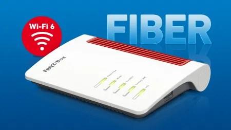 Fritzbox 5530: Glasfaser-Router von AVM mit Wi-Fi 6 und Multigigabit-LAN