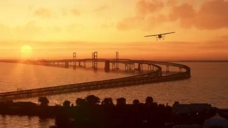 Flight Simulator: Kostenloses Update für US-Szenerie und US-Sehenswürdigkeiten