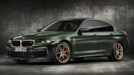 Lightshow: BMW M5 CS