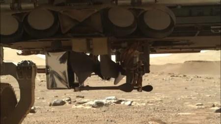 Mars-Rover Perseverance: Startplatz für Hubschrauber Ingenuity gefunden
