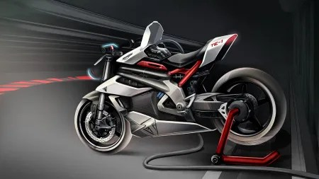 Projekt TE-1: Triumphs erstes Elektromotorrad entsteht