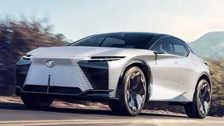 Lexus LF-Z Electrified: Elektro-SUV als Ausblick auf kommende Modelle