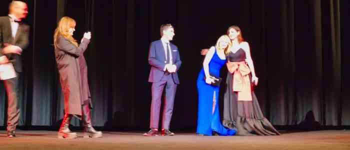 Von links nach rechts: Regisseurin Isabel Coixet, James Lance, Patricia Clarkson, Emily Mortimer