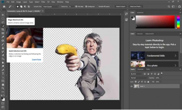 Cara Menghilangkan Background di Photoshop