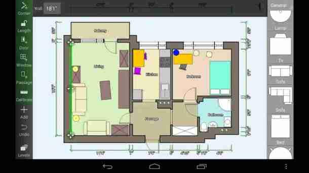 aplikasi membuat denah ruangan