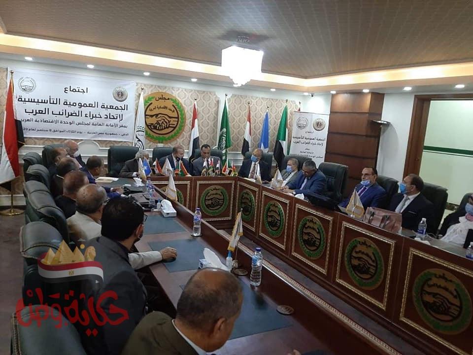 اختيار الدكتور عبد الهادي مقبل رئيسا لأول اتحاد لخبراء الضرائب العرب والدكتور رمضان صديق نائبا.