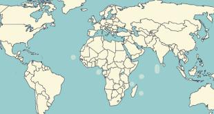 عدد دول العالم