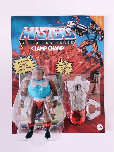 Clamp Champ in der Masters of the Universe Origins-Version