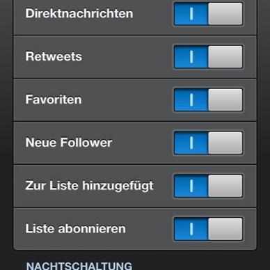 Einstellungen Tweetbot2