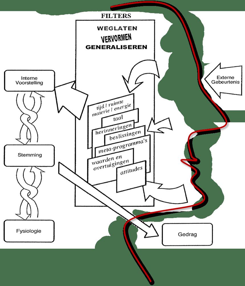 NLP communicatie model