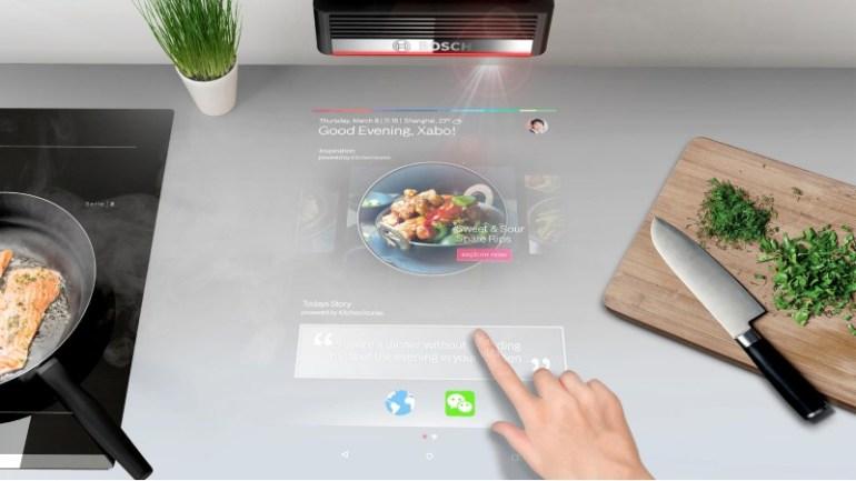 Bosch 3D projeksiyon