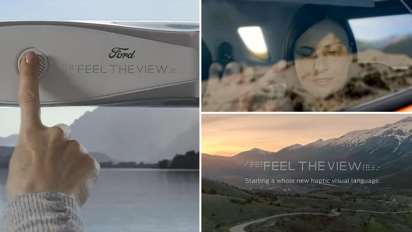 """Ford """"Feel The View"""" Teknolojisi"""