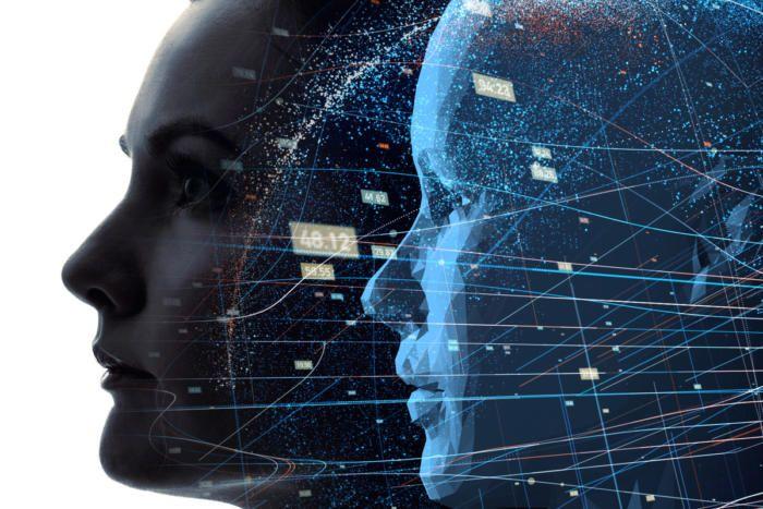 İnsan yüzü dijital ikiz modeli