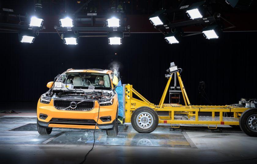 Volvo çarpma testi