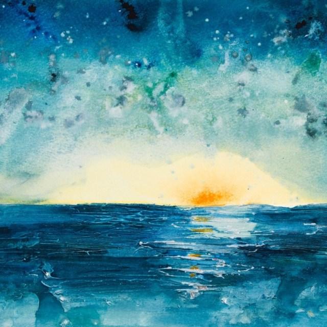 And the Moonbeams Kiss the Sea
