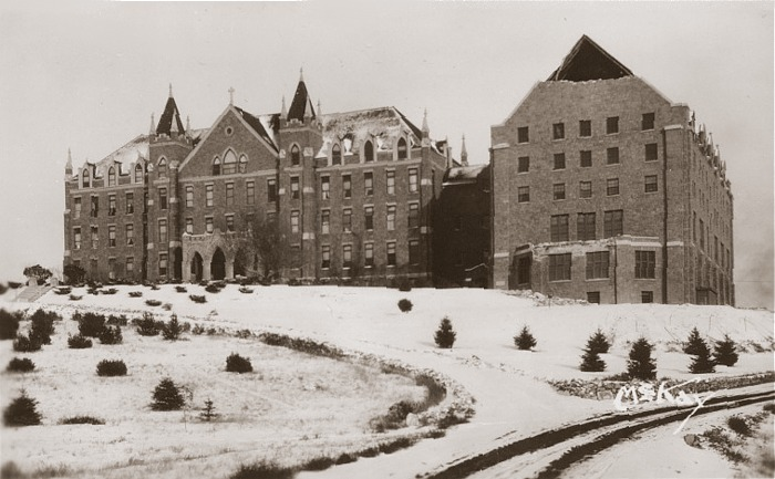 Carroll College in Helena, Montana