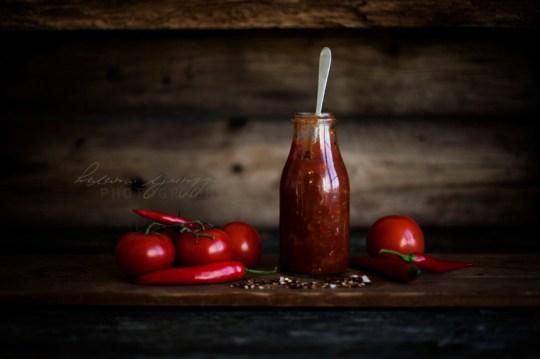 het tomatsås