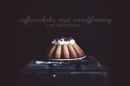 kaka med saffran