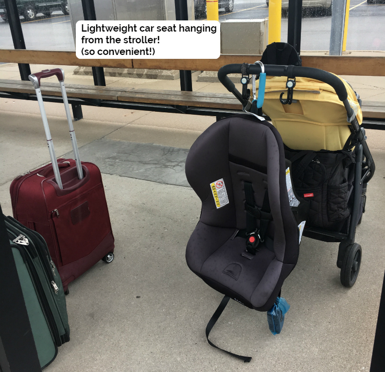 Image result for image of cosco scenera next attached to stroller