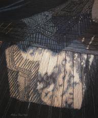 Riippukeinu, 2011, 68 x 59 cm, vapaa