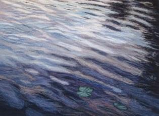 Voiman lähde, 2006, 59 x 78 cm, myyty