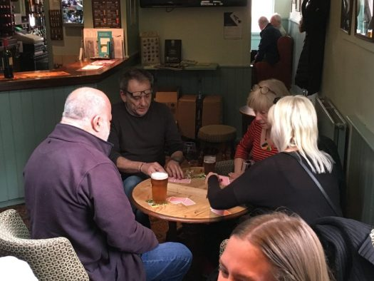 The Helen Bolton Cribbage Tournament 2019, held at The Retreat, Reading.