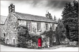 village house in New Abbey Dumfriesshire solway coast scotland