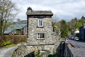 The Bridge House 17th century Ambleside oddball Lake District National Trust